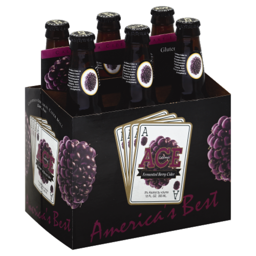 Ace Fermented Berry Cider Perspective: front
