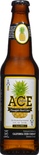 Ace Pineapple Hard Cider Perspective: front