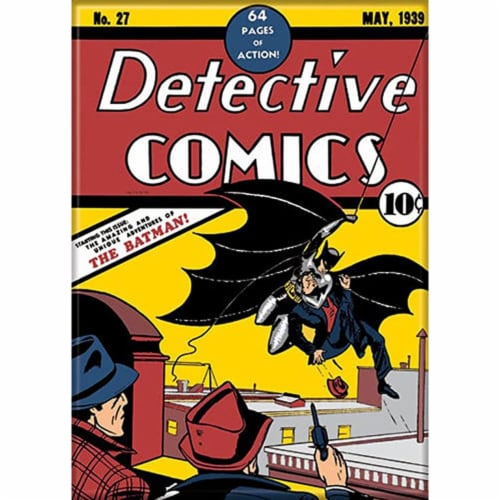 Ata-Boy Detective Comics Batman Swinging Magnet Perspective: front