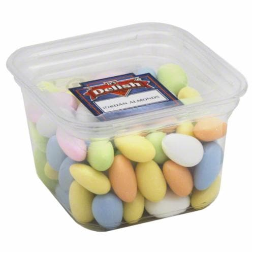 It's Delish Jordan Almond Tray Perspective: front