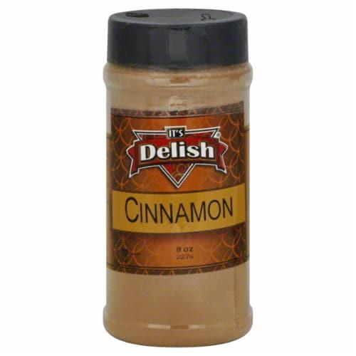 It's Delish Cinnamon Perspective: front