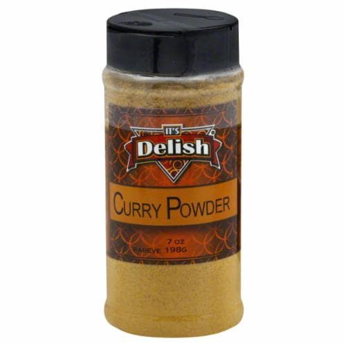 It's Delish Curry Powder Perspective: front