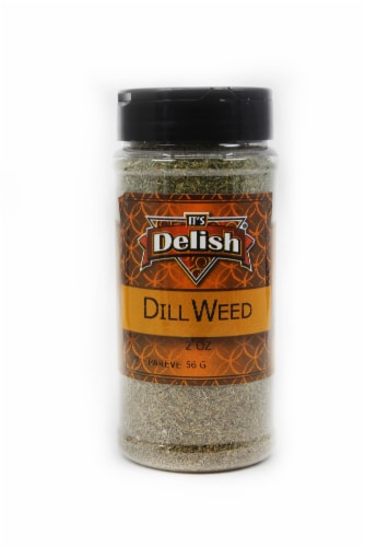 It's Delish Dill Weed Perspective: front