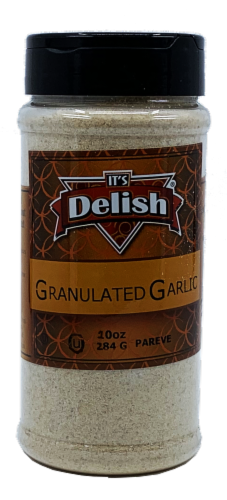 It's Delish Granulated Garlic Perspective: front