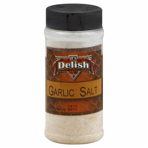 It's Delish Garlic Salt Perspective: front