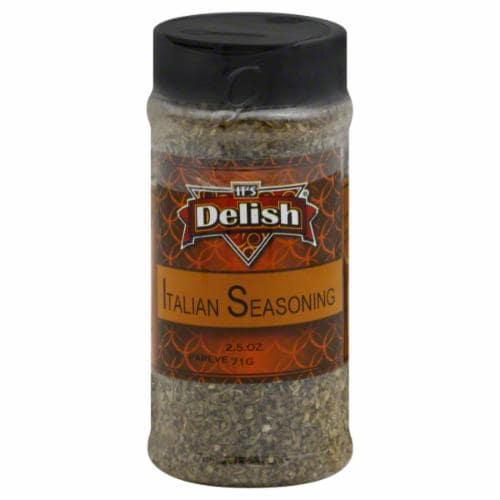 It's Delish Italian Seasoning Perspective: front