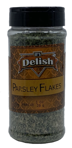 It's Delish Parsley Flakes Perspective: front