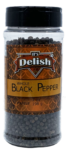 It's Delish Whole Black Pepper Perspective: front