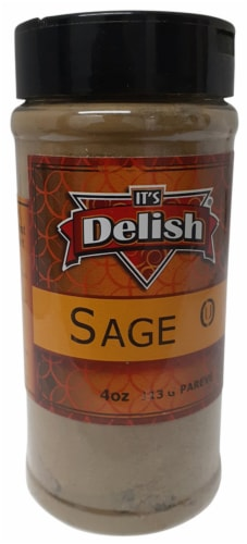 It's Delish Sage Perspective: front