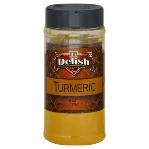 It's Delish Turmeric Perspective: front