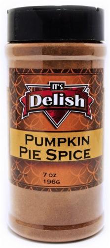 It's Delish Spice Pumpkin Pie Perspective: front