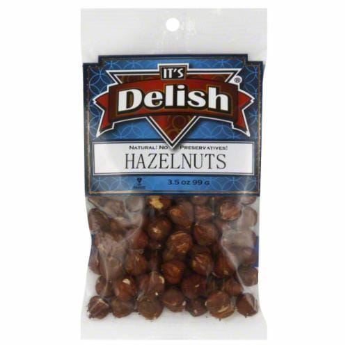 It's Delish Hazelnuts Perspective: front