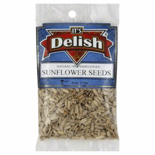 It's Delish Sunflower Seeds Perspective: front