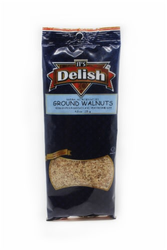 It's Delish Ground Walnuts Perspective: front