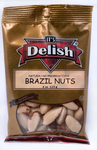 It's Delish Brazil Nuts Perspective: front