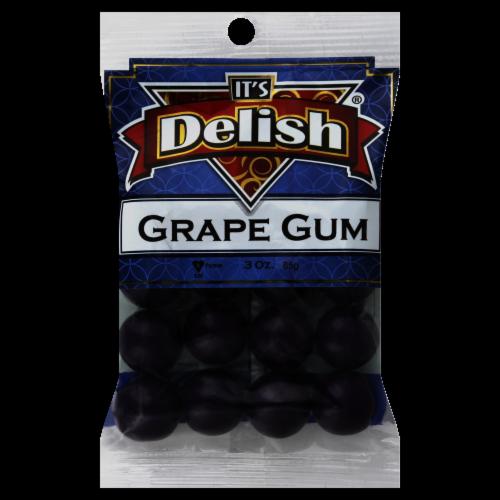 It's Delish Grape Gum Perspective: front