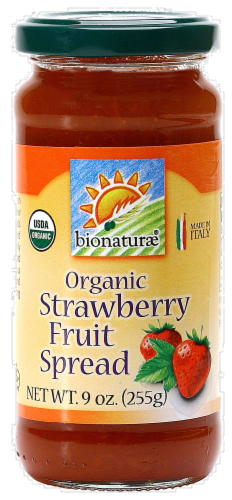 Bionaturae Organic Strawberry Fruit Spread Perspective: front