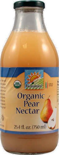 Bionaturae Organic Pear Nectar Perspective: front