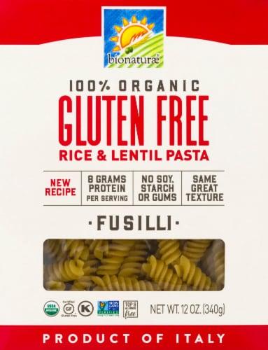 Bionaturae Organic Gluten Free Fusilli Perspective: front