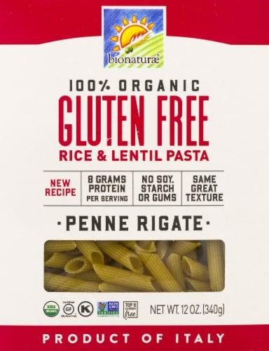 Bionaturae Organic Gluten Free Penne Rigate Perspective: front