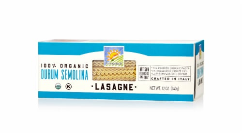 Bionaturae Organic Lasagne Pasta Perspective: front