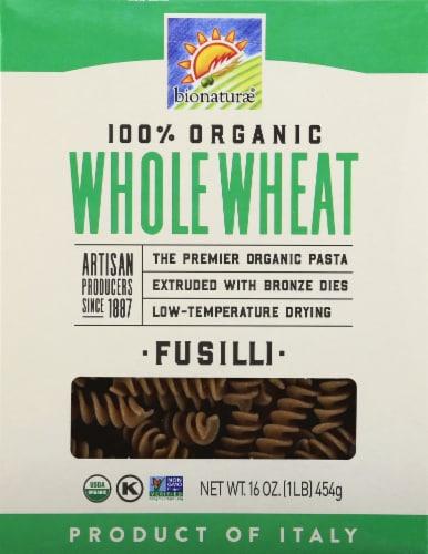 Bionaturae Organic Whole Wheat Fusilli Perspective: front