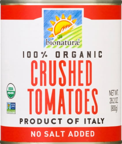 Bionaturae Organic Crushed Tomatoes Perspective: front