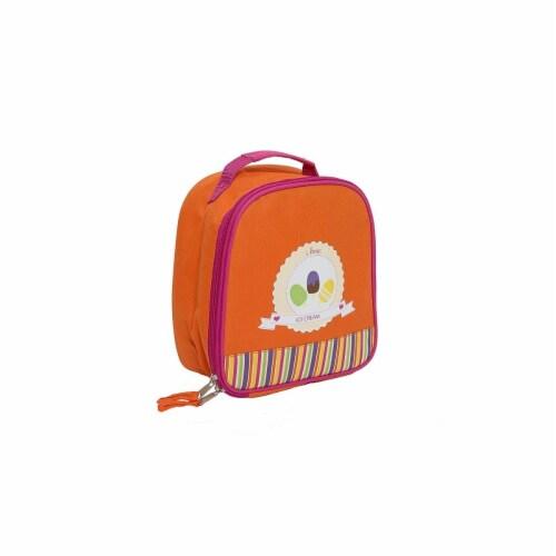 Aquarella Kids LIC2781 Fucsia & Orange Girls Lunchbox Perspective: front