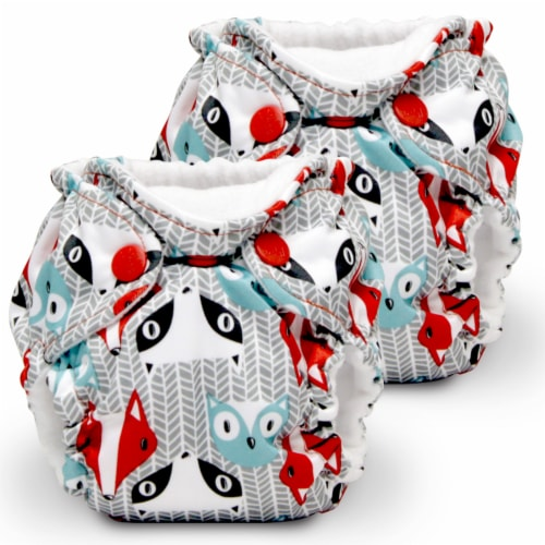 Kanga Care Lil Joey Cloth Diaper (2pk) Clyde Perspective: front