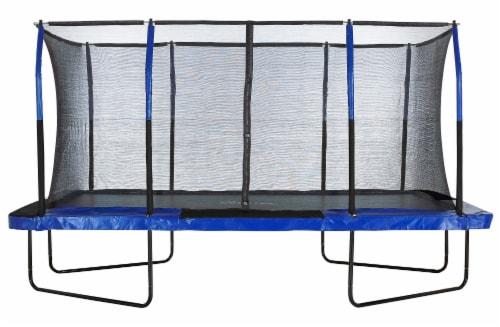 Upper Bounce® Easy Assemble Mega 8' X 14' Rectangular Trampoline Perspective: front