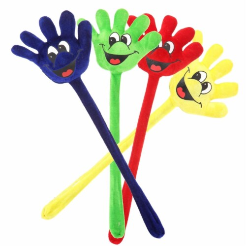 Giftable World AO070007 19 in. Fun Hand with Laughing - 6 Assorted Color Perspective: front