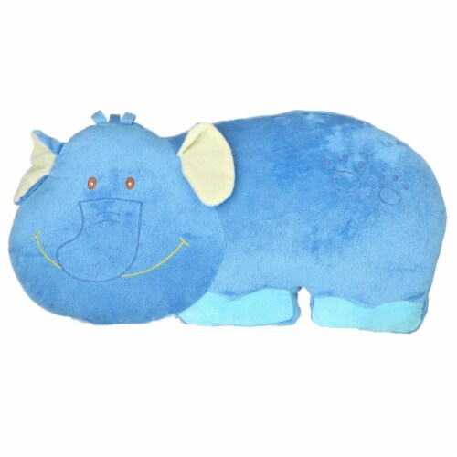 Giftable World AK090005 19 in. Elephant Pillow Perspective: front