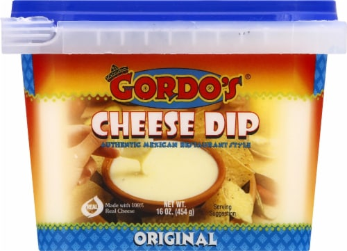 Gordo's Original Mexican Resturant Style Cheese Dip Perspective: front