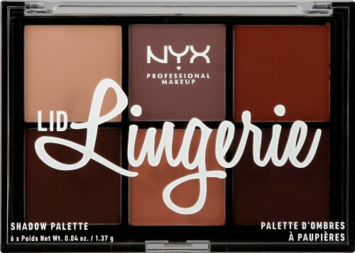 NYX Professional Makeup Lid Lingerie Shadow Palette Perspective: front