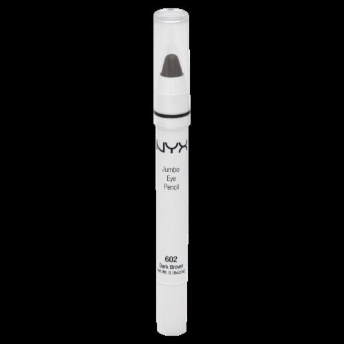NYX Professional Makeup Dark Brown Jumbo Eye Pencil Perspective: front