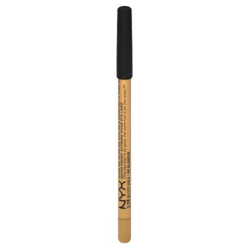 NYX Professional Makeup Glitzy Gold Eyeliner Pencil Perspective: front