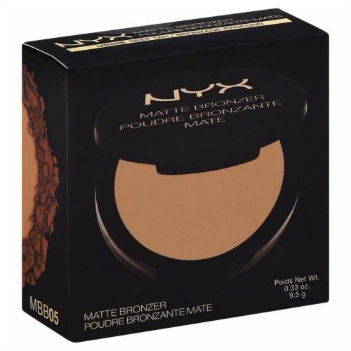 NYX Professional Makeup Deep Tan Matte Bronzer Perspective: front