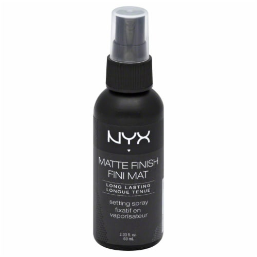 NYX Professional Makeup Matte Finish Setting Spray Perspective: front