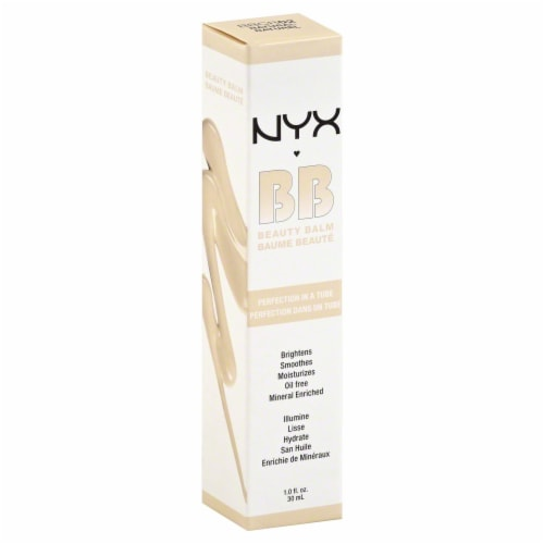 NYX Professional Makeup Natural Beauty Balm Cream Perspective: front