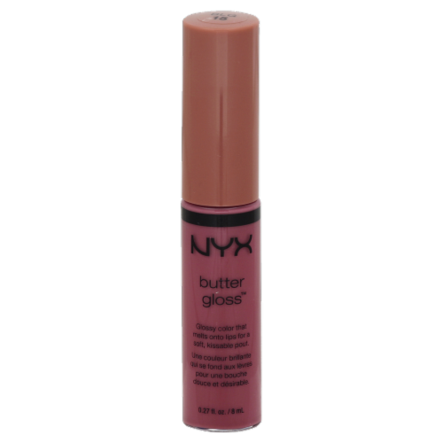 NYX Professional Makeup Angel Food Cake Butter Lip Gloss Perspective: front