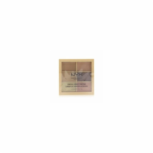NYX Professional Makeup Conceal Correct Contour Face Palette Perspective: front