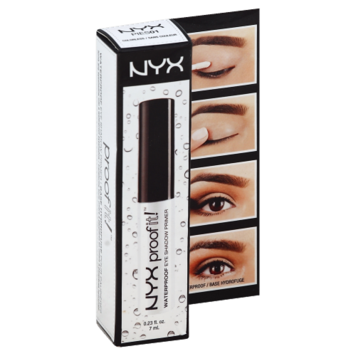 NYX Professional Makeup Colorless Proofit Waterproof Eyeshadow Primer Perspective: front