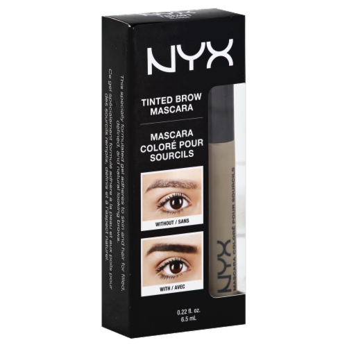 NYX Professional Makeup Blonde Tinted Brow Mascara Perspective: front