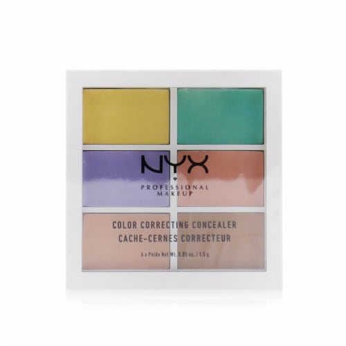 NYX Professional Makeup Color Correcting Concealer Palette Perspective: front
