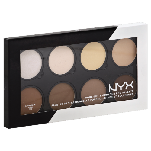 NYX Professional Makeup Highlight & Contour Pro Palette Perspective: front