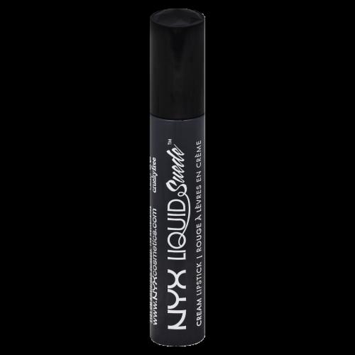 NYX Professional Makeup Stone Fox Liquid Suede Cream Lipstick Perspective: front