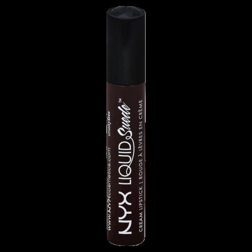 NYX Professional Makeup Liquid Suede Cream Lipstick Perspective: front