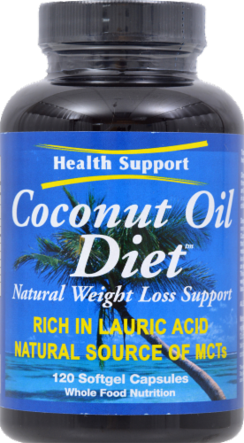 Health Support Coconut Oil Diet Perspective: front