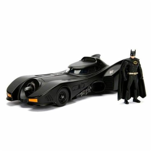 Jada Toys JAD30874 1989 Batmobile Model Car with Batman Figure Perspective: front