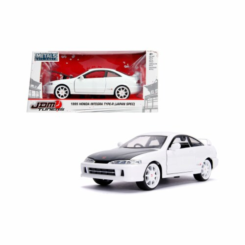 Jada 30931 1 by 24 Scale Diecast for 1995 Honda Integra Type-R Japan Spec Right Hand Drive Gl Perspective: front